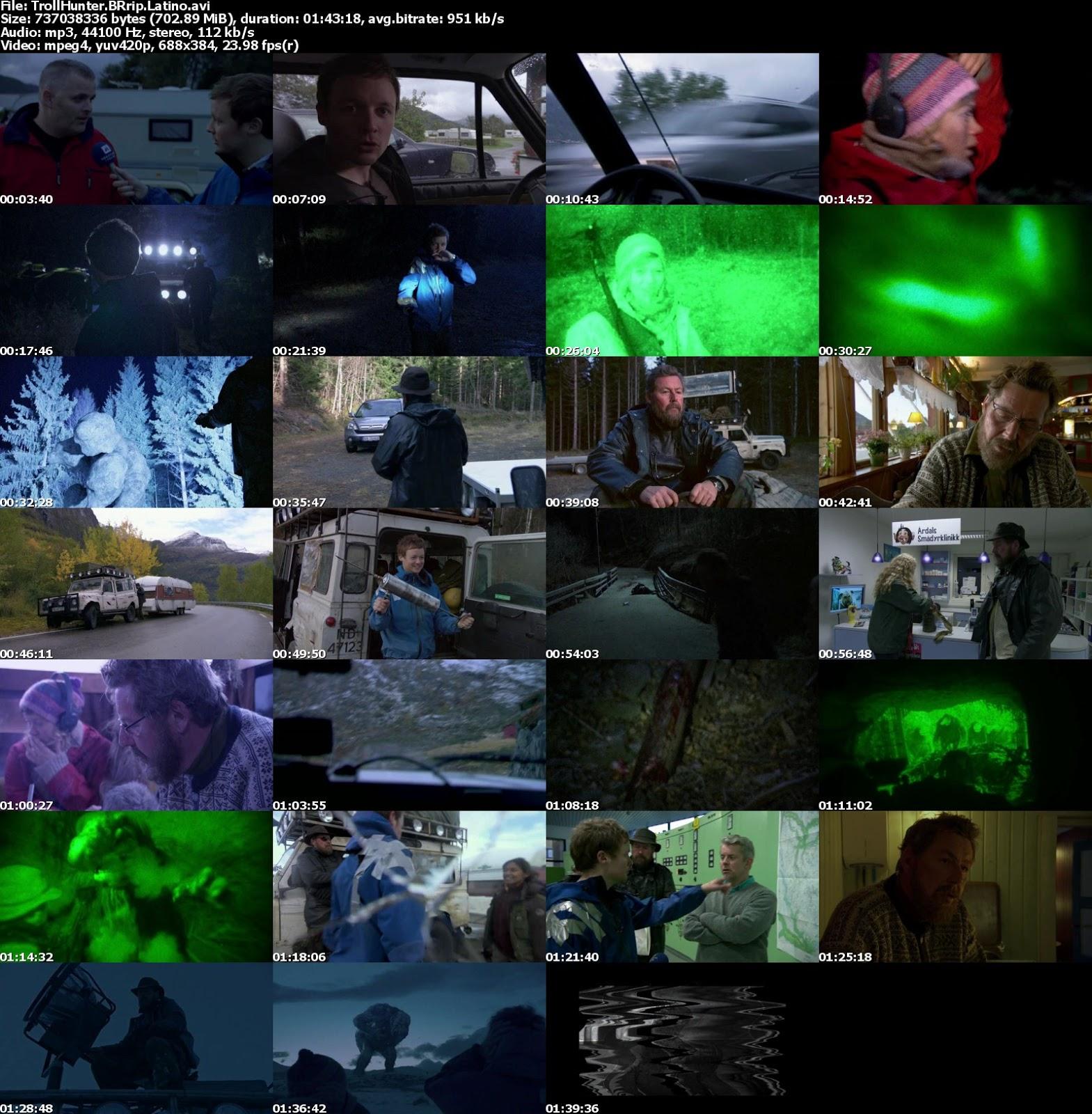 El Cazador De Troll DVDrip [2010][Latino] 1 Link