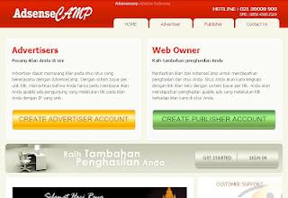 Apa itu AdsenseCamp layanan pengiklanan online