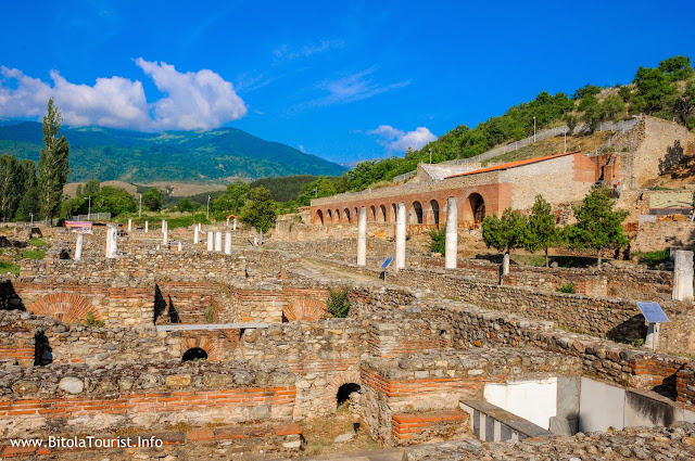 Heraclea Lyncestis - archaeological site near Bitola, Macedonia