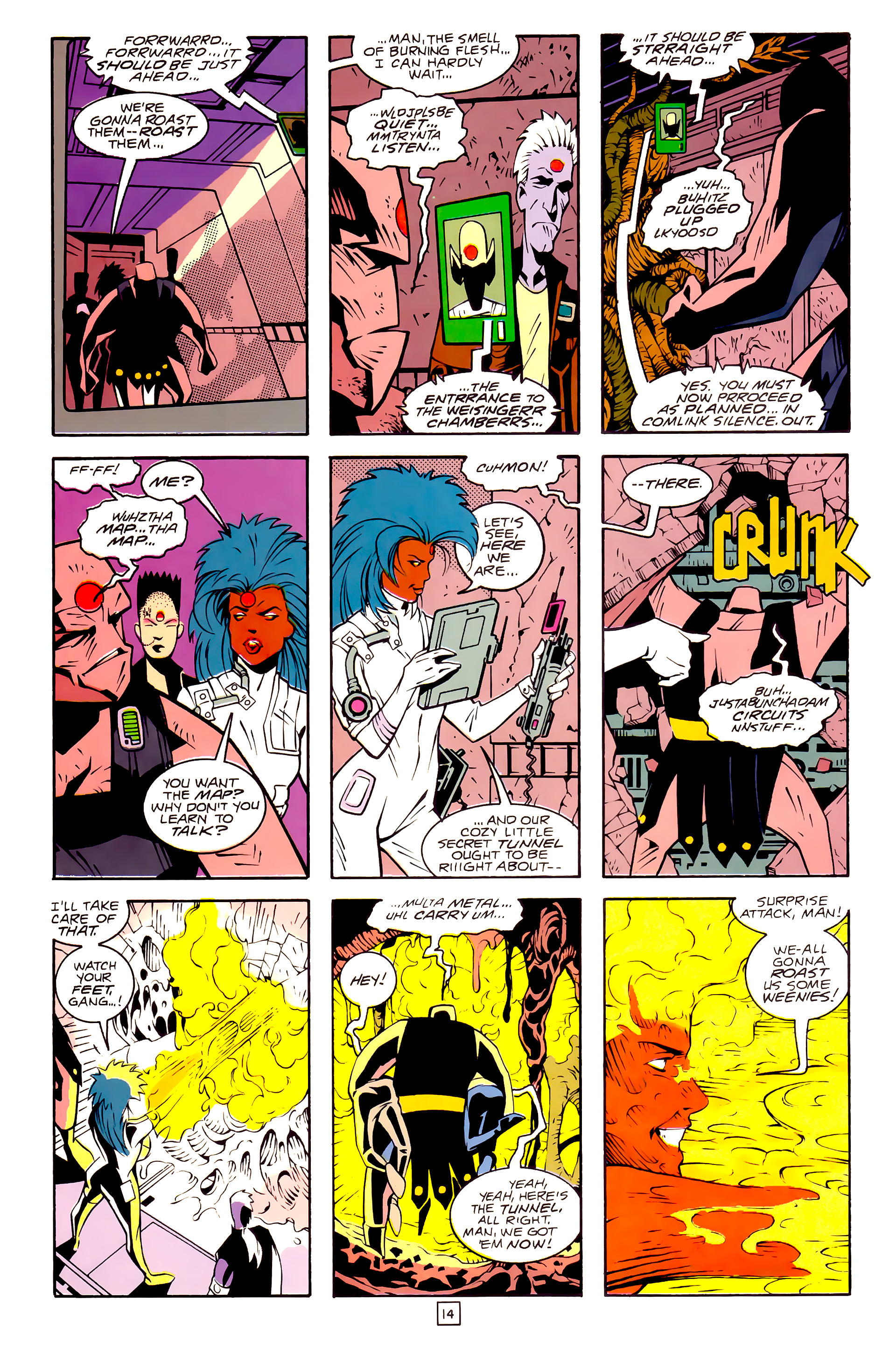 Legion of Super-Heroes (1989) 30 Page 14