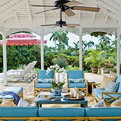 Dreamy Outdoor Spaces Part II on Tropical Outdoor Living id=77922