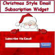 Christmas Style Email Subscription Widget For Blogger Blogs ~ Tweak Your Blog