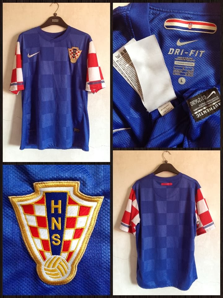 low priced c28d4 8f483 Pusat Jersey: Jersey Croatia Away 2010-2012