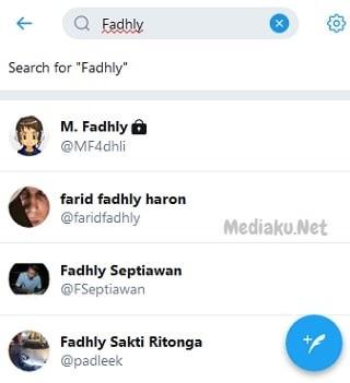 Mencari Teman Di Twitter Lewat HP