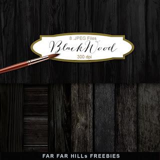 New Freebies Kit of Backgrounds - BlackWood