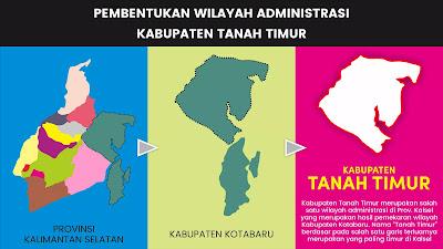 Pembentukan Kabupaten Tanah Timur di Kalimantan Selatan