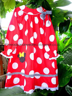 how to sew dress for little girl - diy dress - diy cara menjahit baju