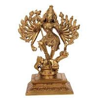 Devi Mahatmyam Durga Saptasati Chapter 9 in Telugu