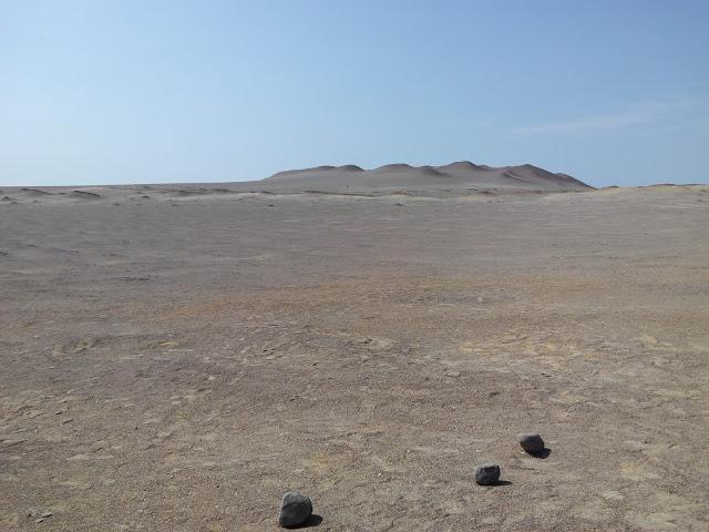 Cerro Colorado, desierto de Paracas