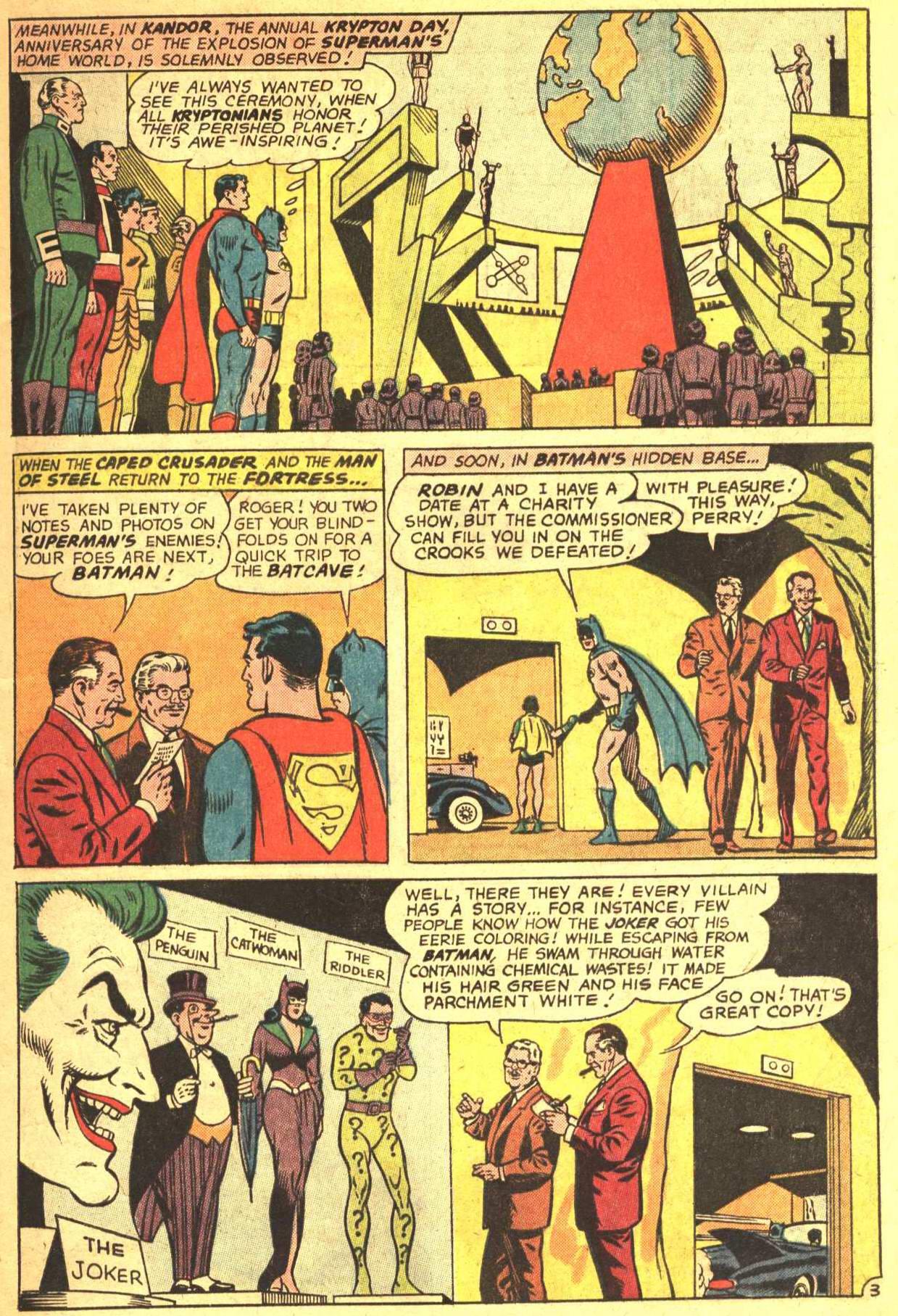 Read online World's Finest Comics comic -  Issue #159 - 5