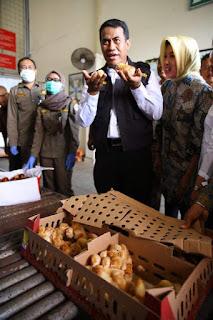 mentan lepas Ekspor Bibit Ayam Petelur ke Timor Leste