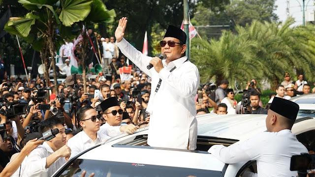 Prabowo Dijadwalkan Hadiri Deklarasi APTSI Untuk Pemenangan Paslon 02