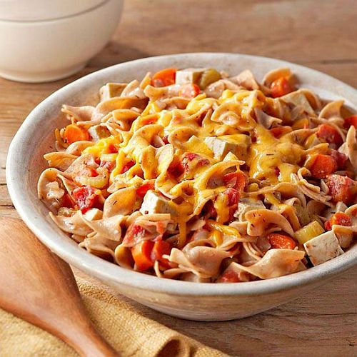 dinner tip: Slow cook cheesy noodle casserole with recipe link