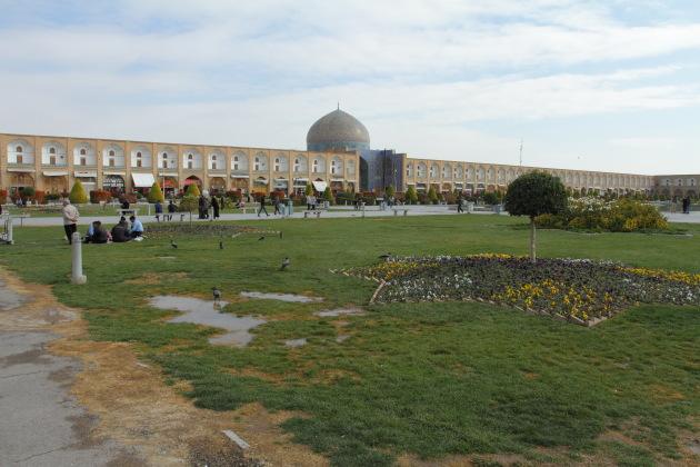 Naqsh e-Jahan square of Isfahan, Iran