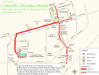 Camarillo Christmas Parade.Camarillo Holiday Events This Weekend