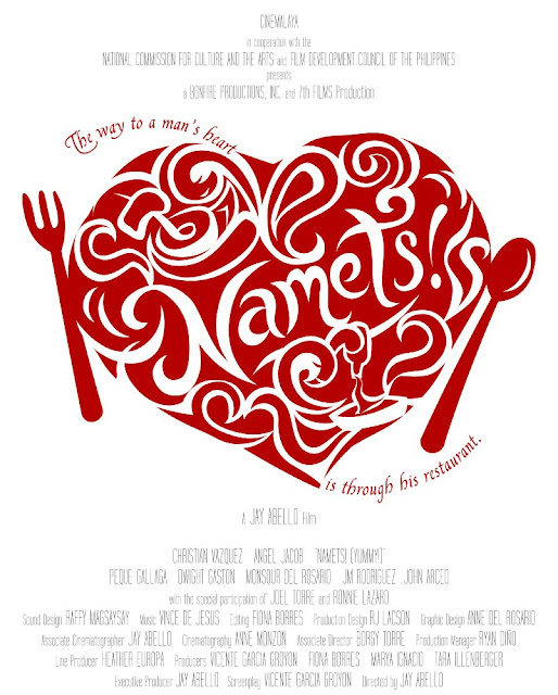 It follows the ongoing flirtation between Jacko and Cassie, two Negrenses who grew up in Bacolod City, and whose lives revolve around food.
