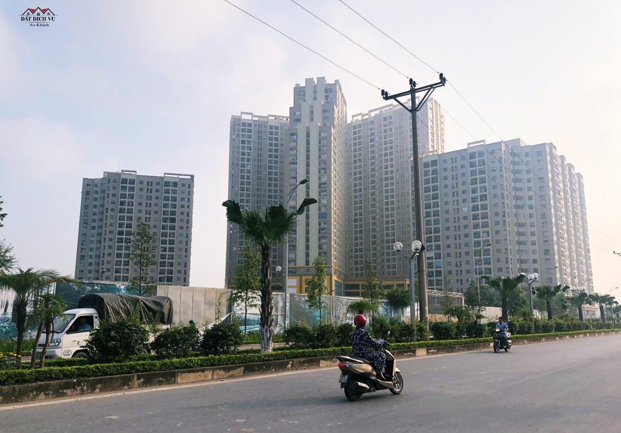 Đất dịch vụ khu Nam Anh Khánh