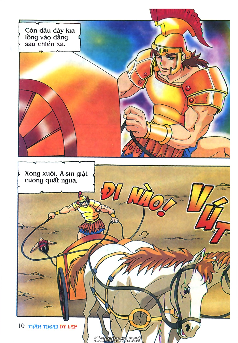 Thần Thoại Hy Lạp Màu - Chapter 62: Hector tử trận - Pic 10