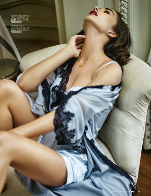 This British model & Bollywood Diva Amy Jackson Features on GQ Magazine
