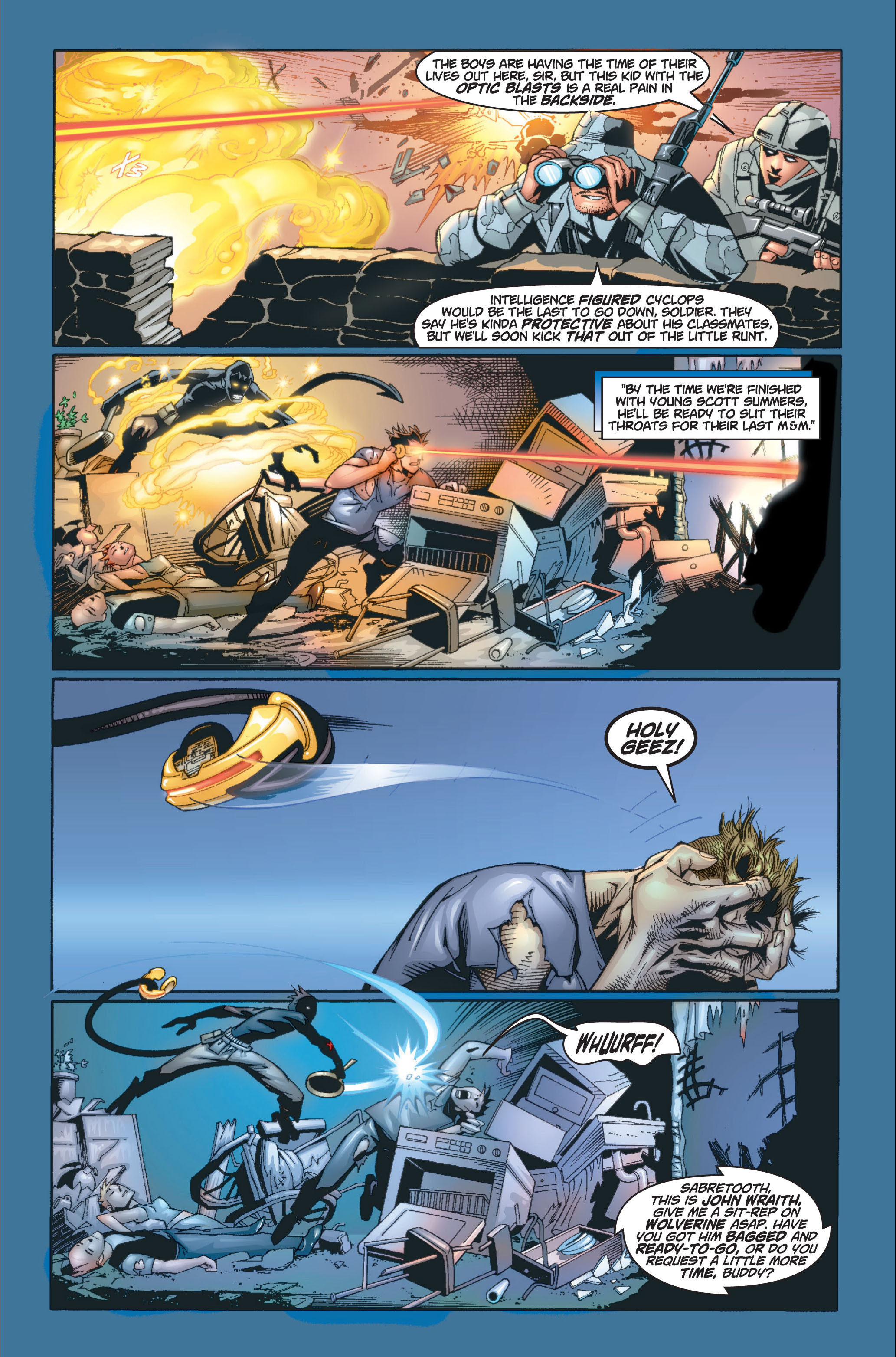 Read online Ultimate X-Men comic -  Issue #8 - 18