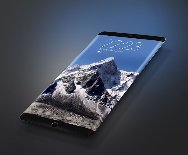 Mi Note 2 Edge, Curved Screen Display