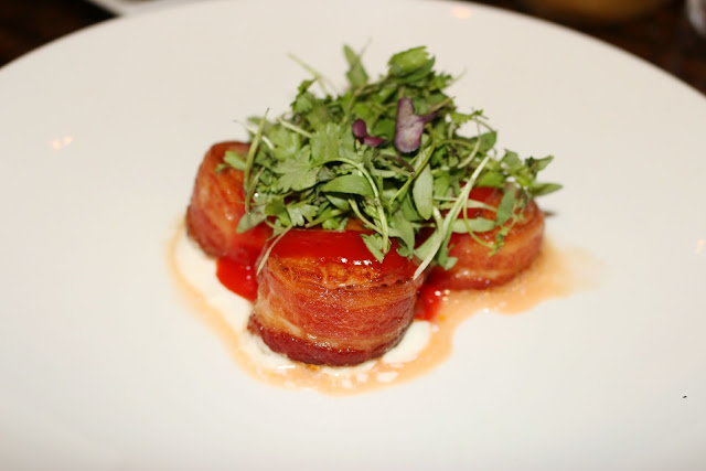 Plantation Restaurant - Scallops & Bacon