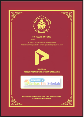 Contoh LPPA/ Raport KB (Play Group) Usia 2-3 dan 3-4 Tahun Kurikulum 2013