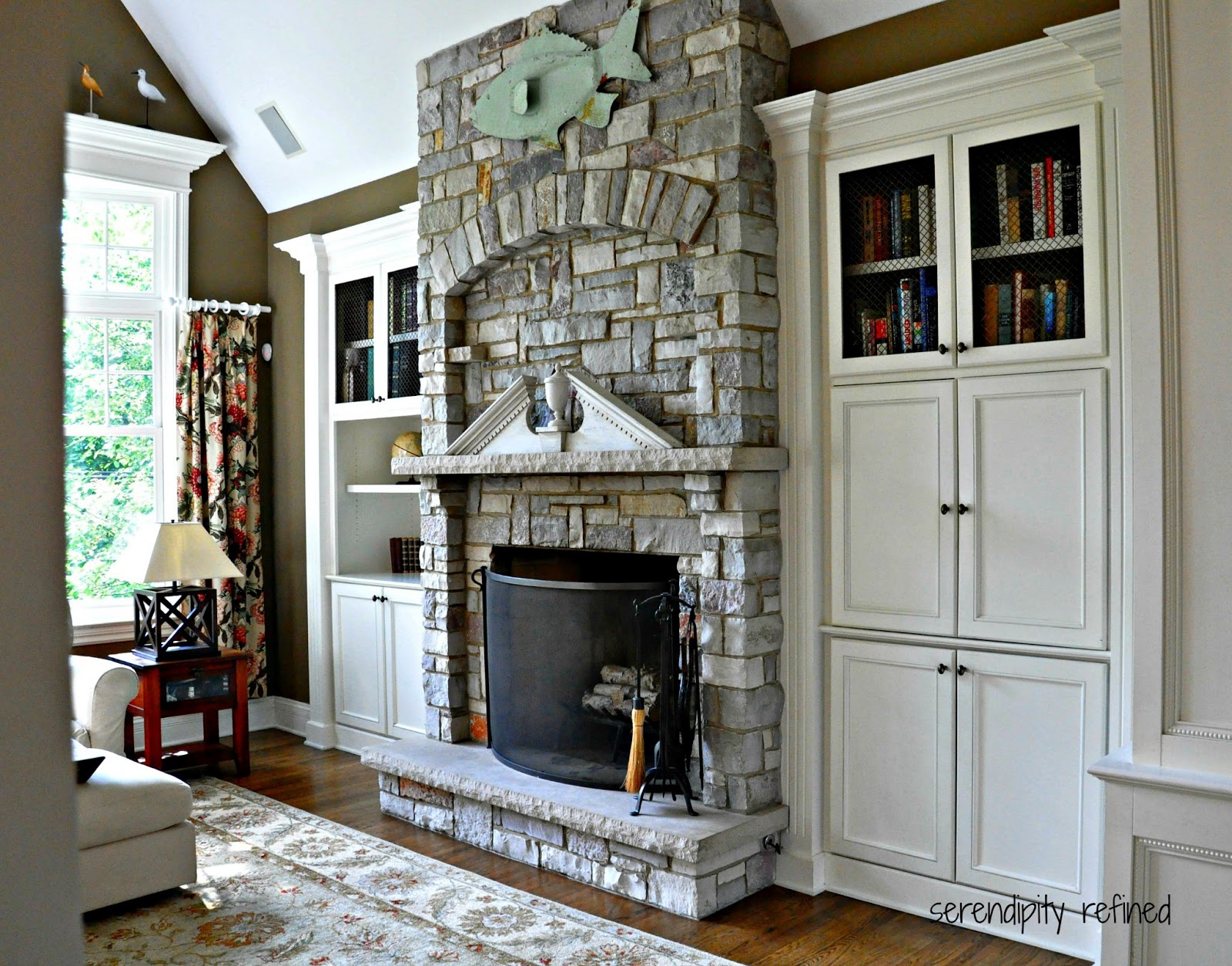 Serendipity Refined Blog: Family Room Reveal: Coastal or ...