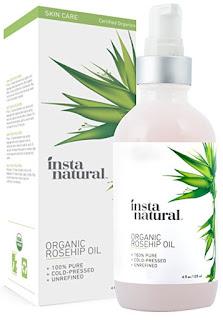 InstaNatural Organic Rosehip Seed Oil
