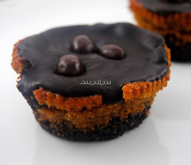 Cupcakes de Oreo y Conguitos