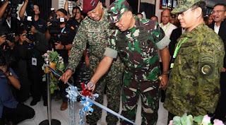 Panglima TNI meresmikan Maritime Command Center (MCC)