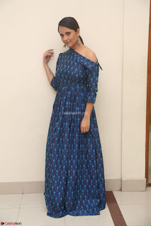 Anchor Anasuya in a Blue Gown at Jai Lava Kusa Trailer Launch ~  Exclusive Celebrities Galleries 009.JPG