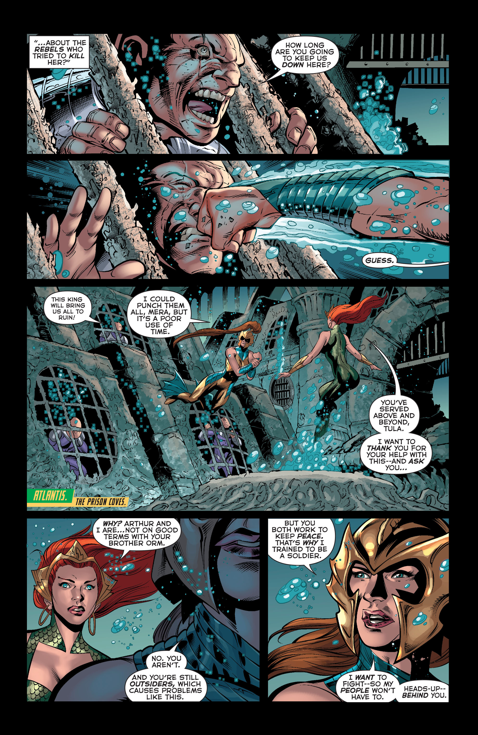 Read online Aquaman (2011) comic -  Issue #33 - 5
