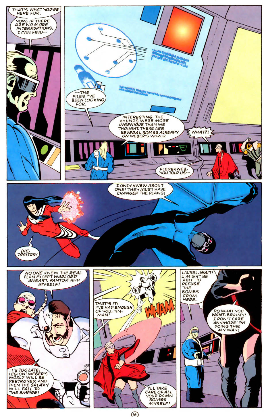 Legion of Super-Heroes (1989) 58 Page 16