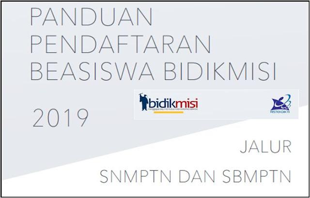 Syarat Pendaftaran Beasiswa Bidik Misi Tahun 2019