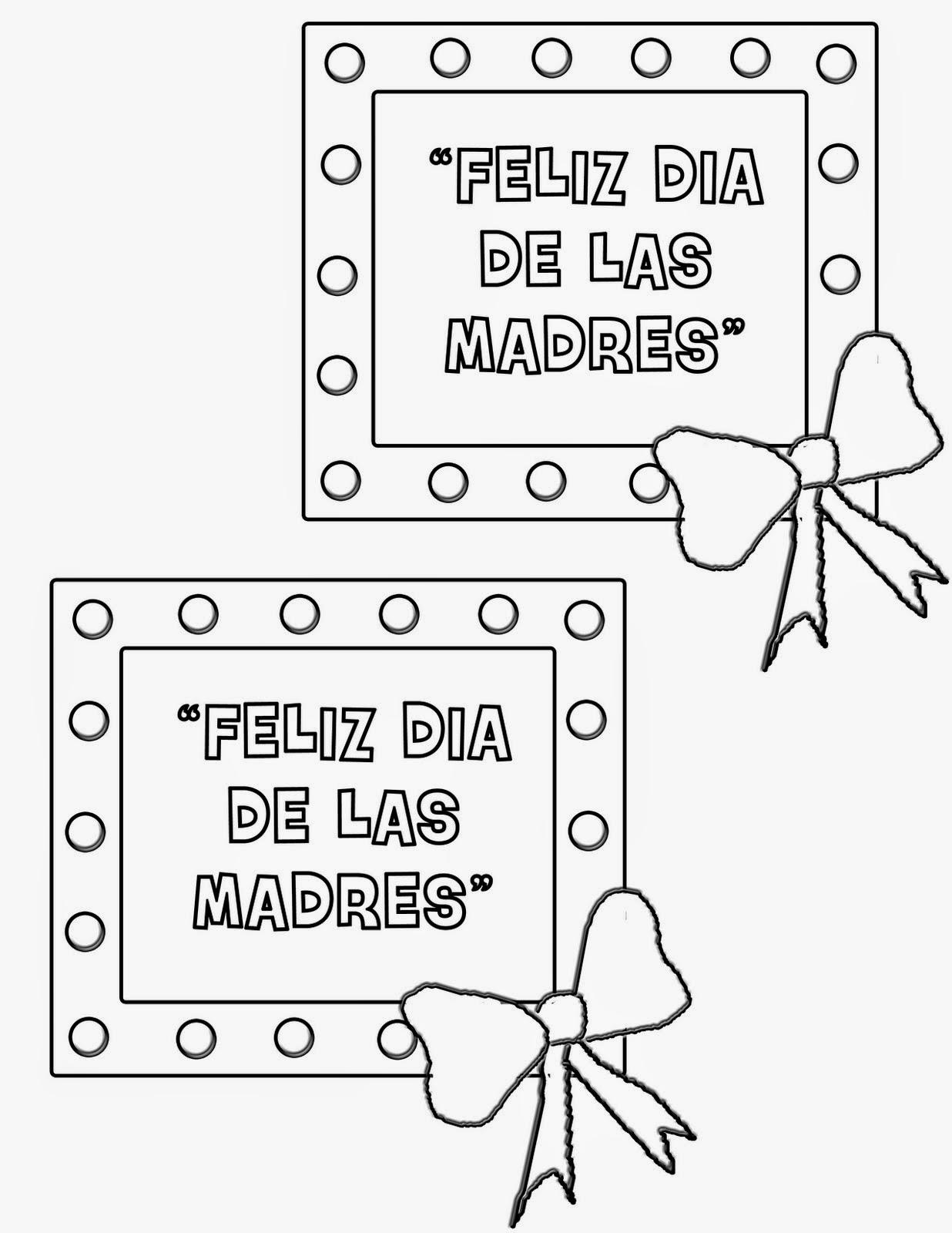 Feliz Dia Mama Dibujos Para Colorear Imagesacolorierwebsite