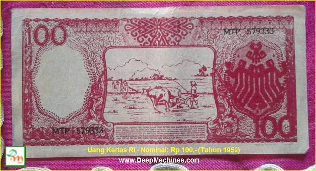 Gambar/ Video serta Keterangan tentang Uang Kertas Soekarno yang dapat Menggulung Sendiri