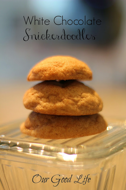 WhiteChocolate Snickerdoodles