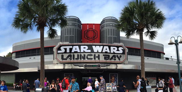 Star Wars Launch Bay em Orlando