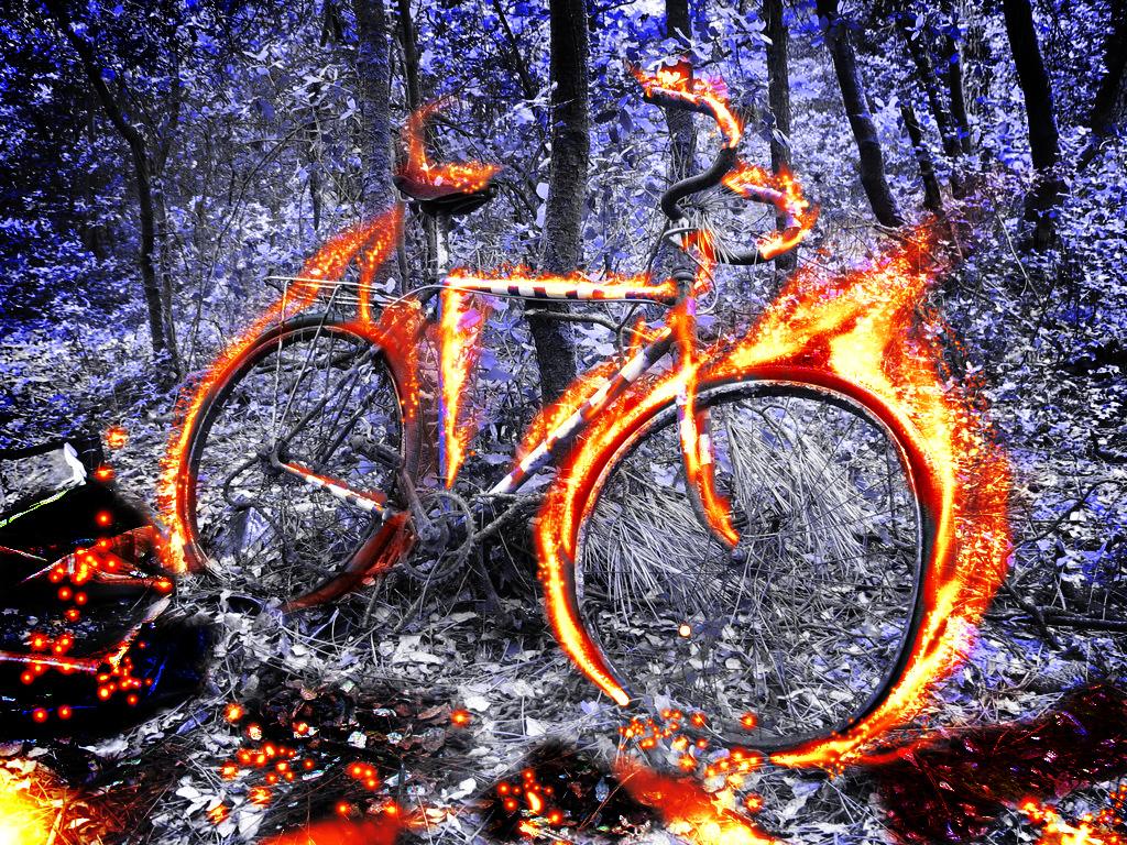 таманские картинки велосипед огонь и вода разные