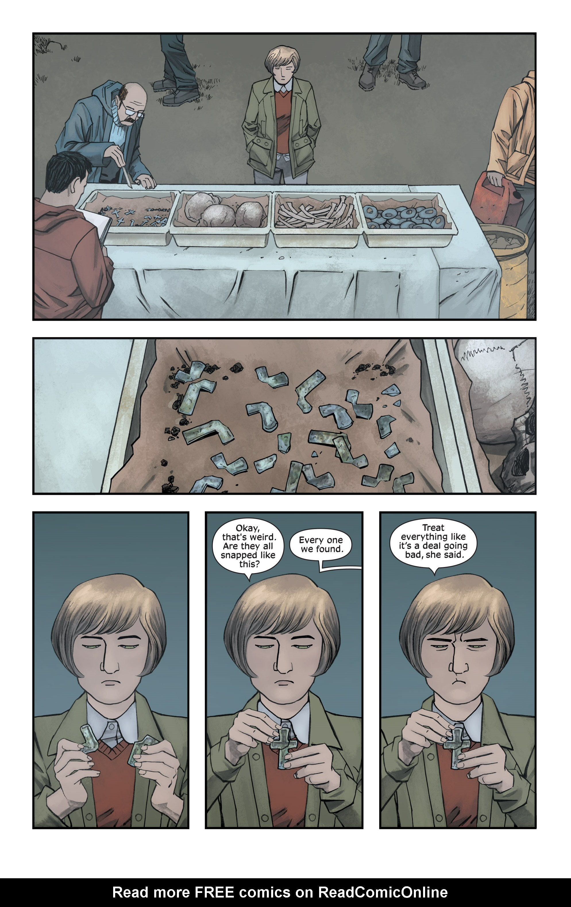 Read online Injection comic -  Issue #13 - 4
