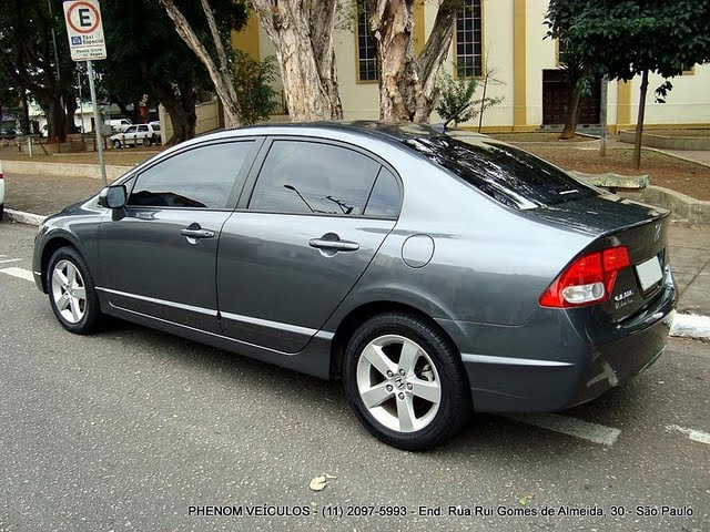New Civic 2008 Automático Flex   Traseira