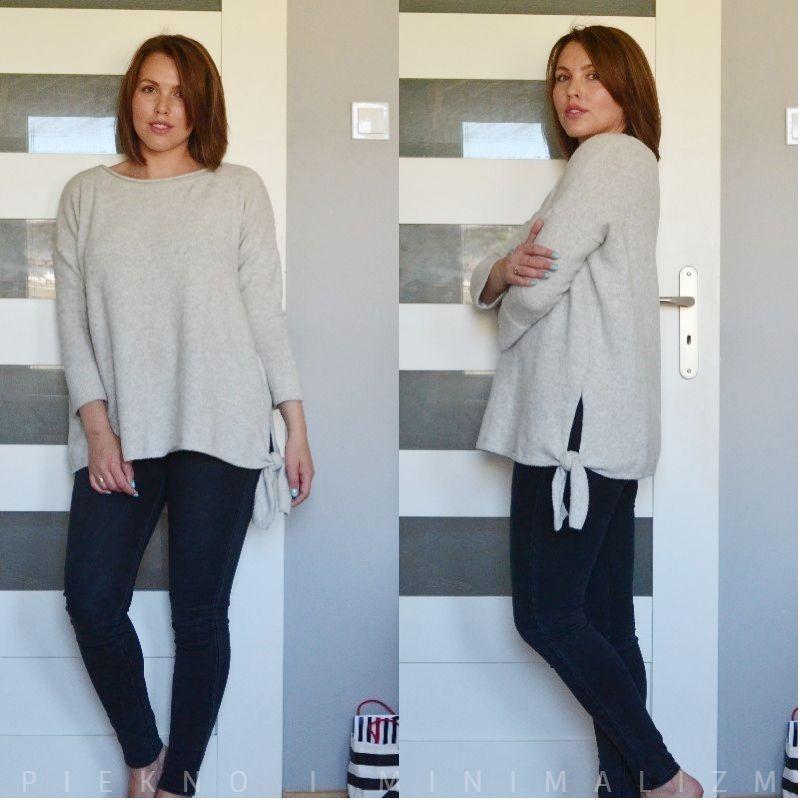 wełniany sweter by o la la ...