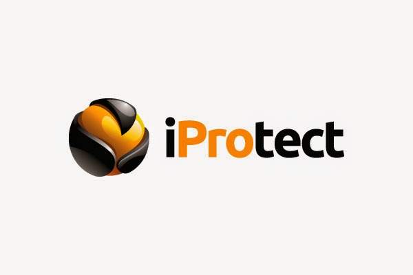 internet security protection readymade logo