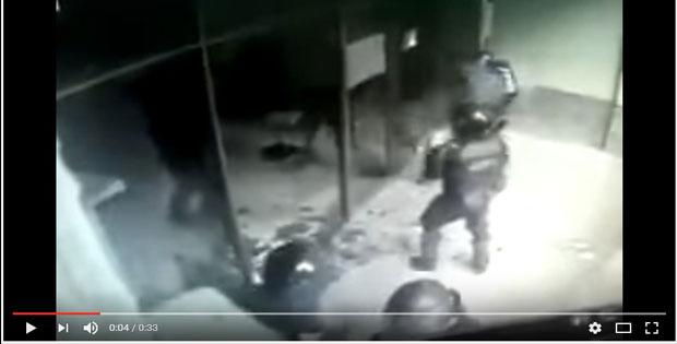 Vídeo mostra policiais quebrando vidros em Brasilia - Falso