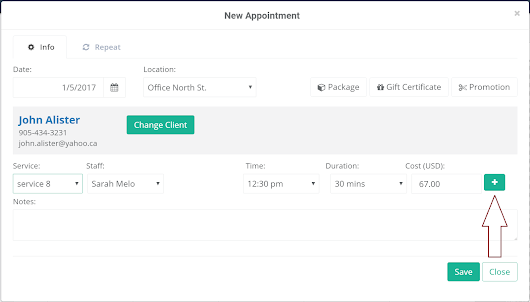 Adding Multiple Services To An Appointment + Service Groups