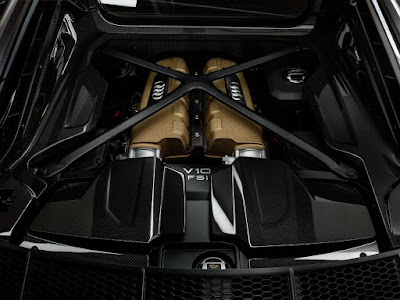 Mesin Audi R8 V10 Decennium