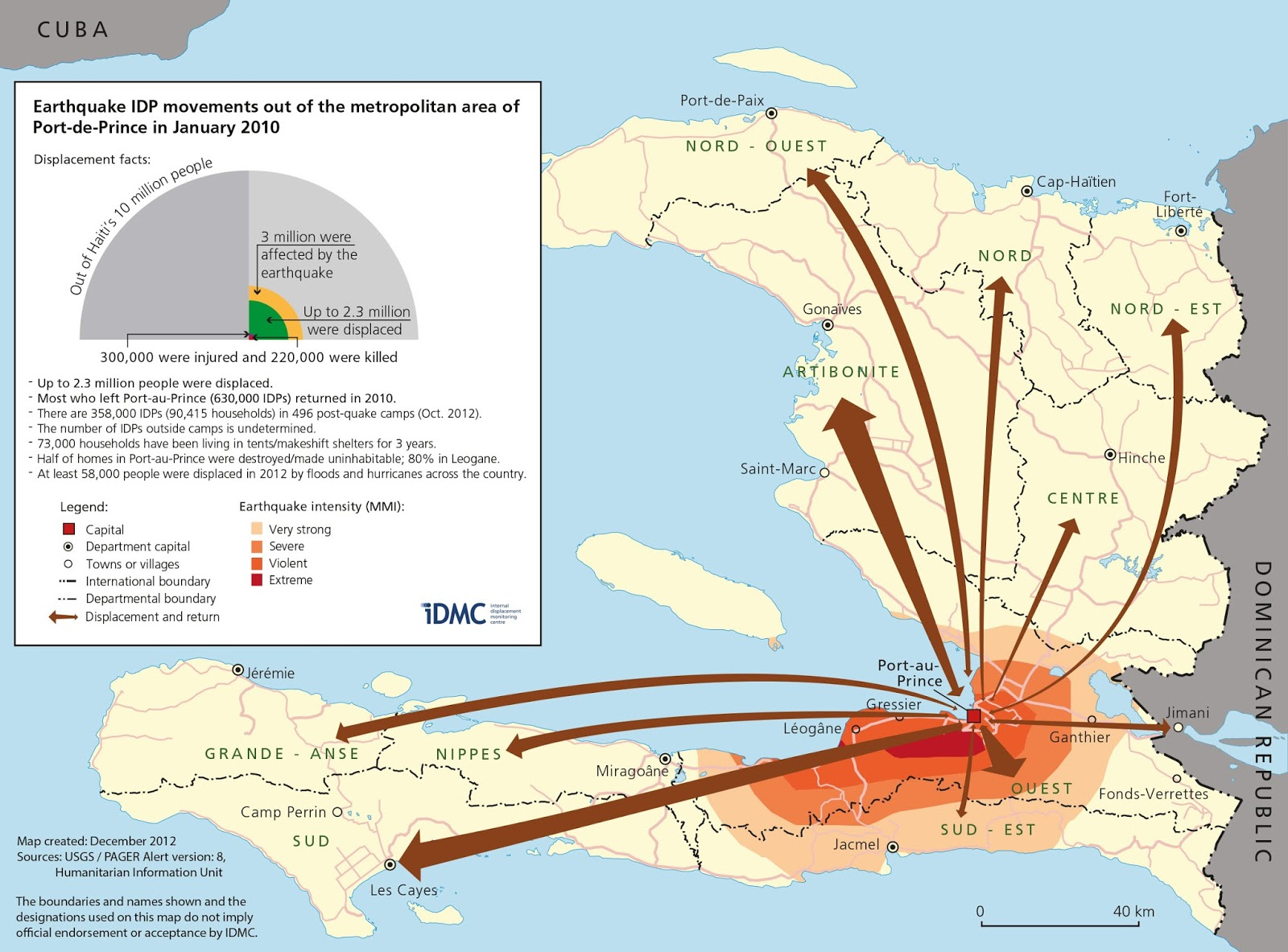 Gis research and map collection maps of haiti available from ball maps in the news haiti sciox Choice Image