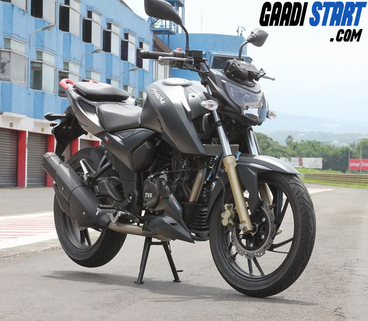TVS Apache RTR 200 4V - Picture, Specification, Mileage