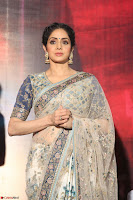Sri Devi in designer saree stunning beauty at the launch of MOM movie Trailer~  Exclusive 128.JPG
